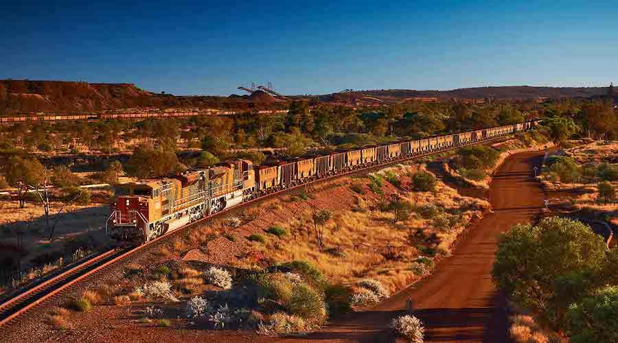 Newman mining hub in Western Australia: Credit: BHP Billiton