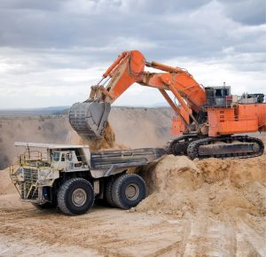 Open pit mining equipment
