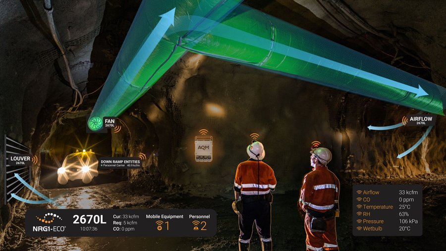 SHYFTinc provides solutions for the mining sector, including the NRG1-ECO energy management system. Credit: SHYFTinc