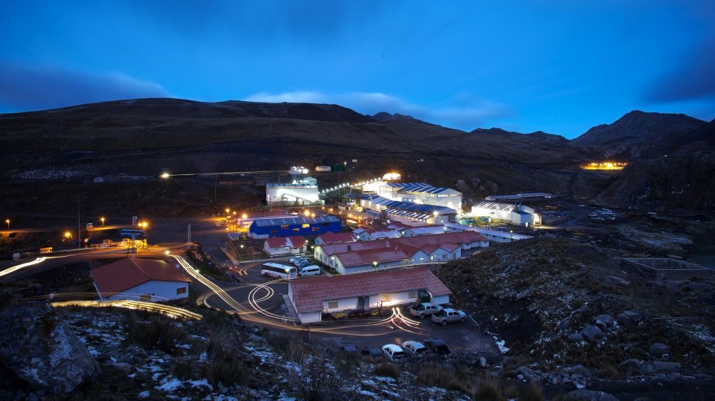 Trevali Mining's Santander mine in Peru. Credit: Trevali Mining