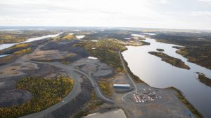 The Colomac gold project at Nighthawk Gold's Indin Lake Credit: Nighthawk