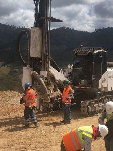 Construction at San Albino Credit: Mako