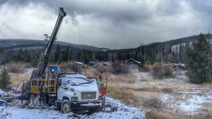Drill at Beartrack gold project Credit: Revival