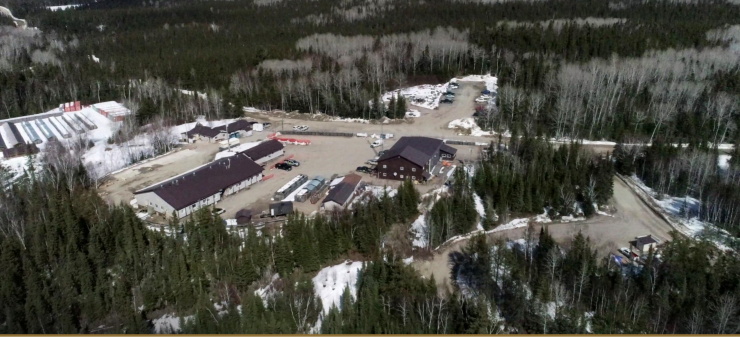 Iamgold and Sumitomo's Cote joint venture gold project, in northern Ontario. Credit: Iamgold