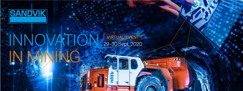 Innovation in Mining event Credit: Sandvik