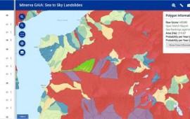 Sea to Sky Landslide map Credit: Minerva