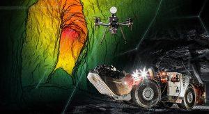 Underground drone Credit: Sandvik