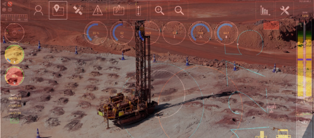 AI in drilling Credit: MineWare