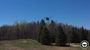 Above-ground drone Credit: SafeSight