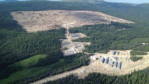 Aerial view of Blackwater Credit: New Gold