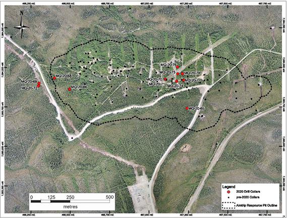 Airstrip drill map Credit: Banyan