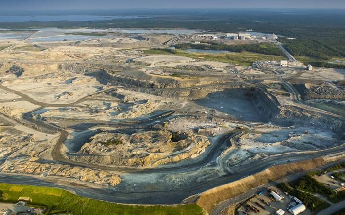 Canadian Malartic open pit Credit: Osisko