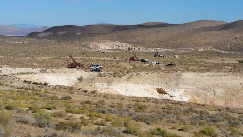Drilling at Mother Lode Credit: Corvus