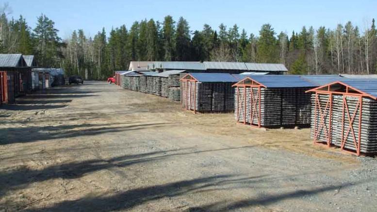 Golden Highway core shack Credit: Moneta Porcupine
