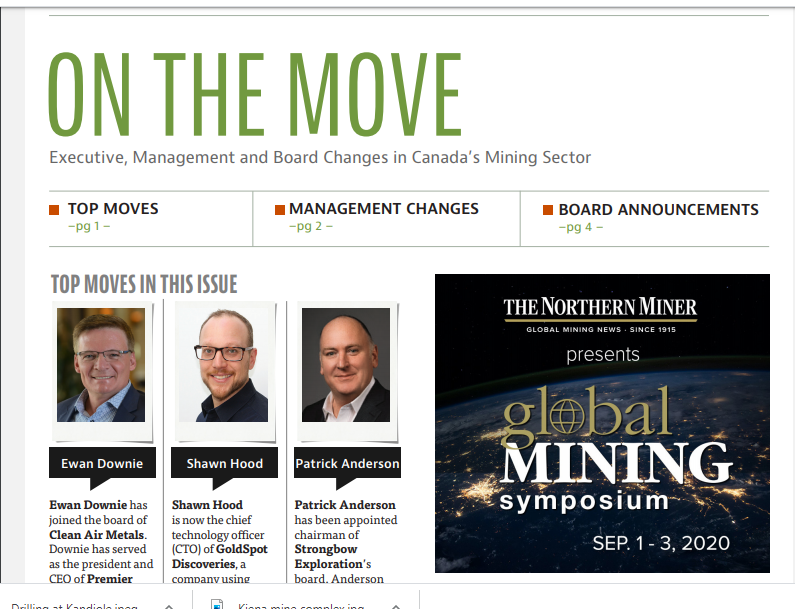 August edition of On the Move