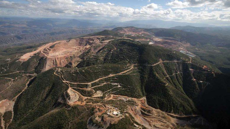Los Filos mine in Mexico Credit: Equinox/ Leagold