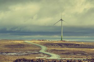 Integrated wind-storage diesel energy project at the Raglan mine in Nunavik, Quebec. Credit: courtesy of Tugliq/photo by Justin Bulota
