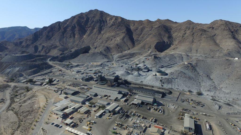 Rosh Pinah mine Credit: Trevali
