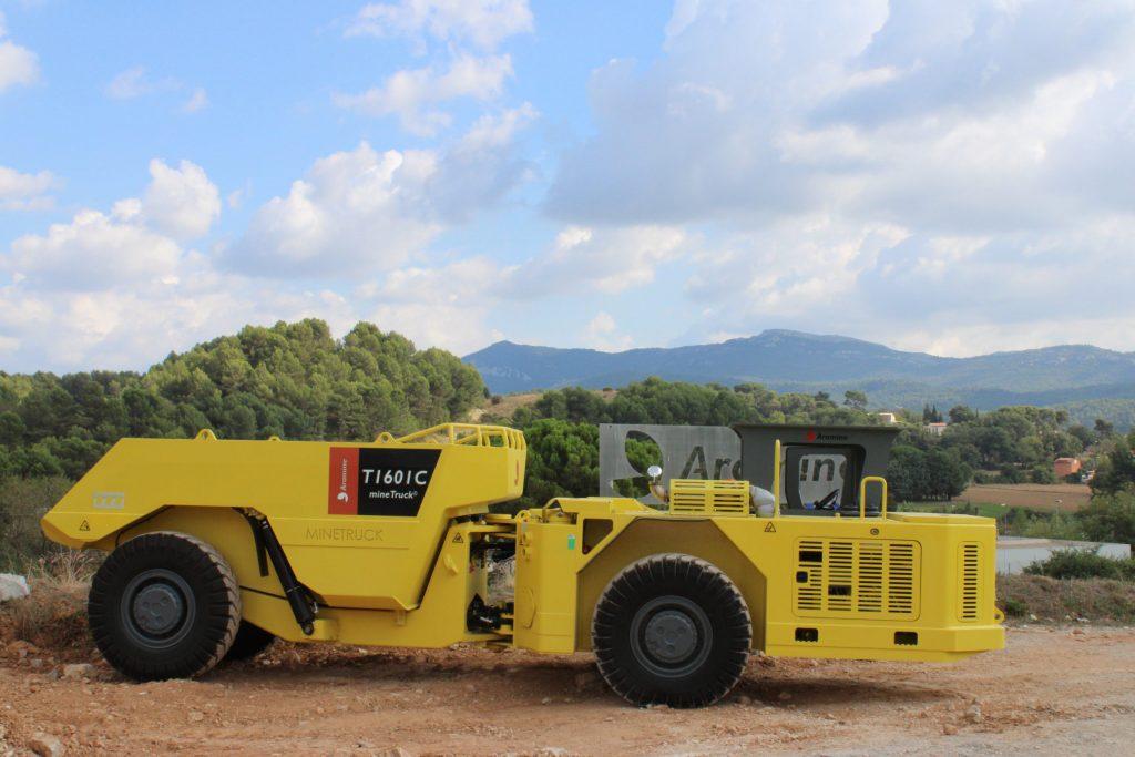 The T1601C mine truck Credit: Aramine