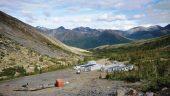 The Tom camp at Macmillan Pass Credit: Fireweed Zinc