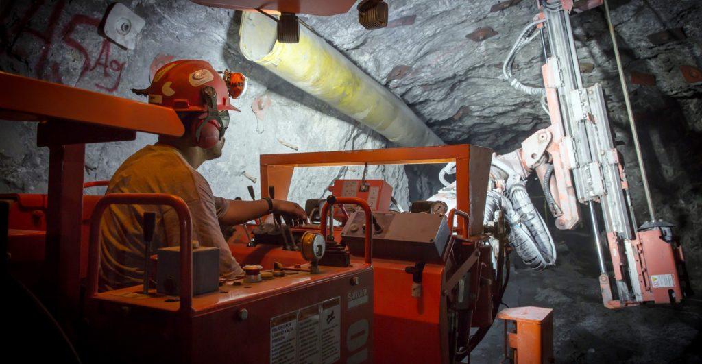 Underground at La Colorada Credit: Pan American