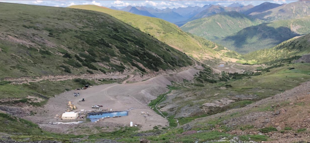 Benchmark Metals' Lawyers gold-silver project in B.C. Credit: Benchmark Metals