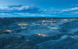 The Canadian Malartic open pit gold mine in Quebec, owned by Agnico Eagle Mines and Yamana Gold. Credit: Agnico Eagle