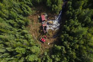Drilling at Dixie Credit: Great Bear Resources