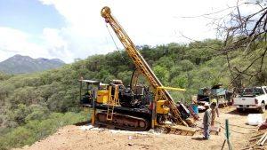 Drilling at Rebeico Credit: Ridgestone Mining