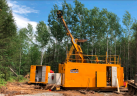 Drilling at West Cache Credit: Galleon Gold