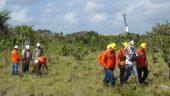 Environmental work at Warintza Credit: Solaris Resources
