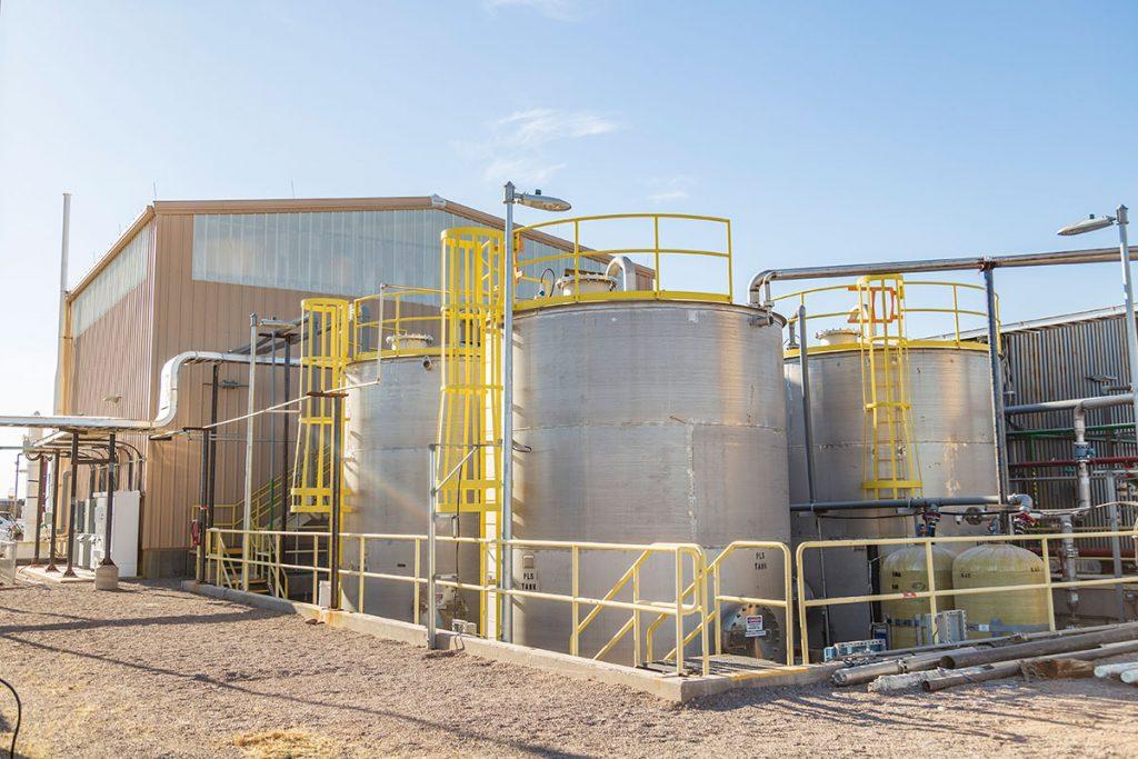 Florence Copper test plant Credit: Taseko