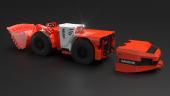 Sandvik's LH518B battery powered loader. Credit: Sandvik
