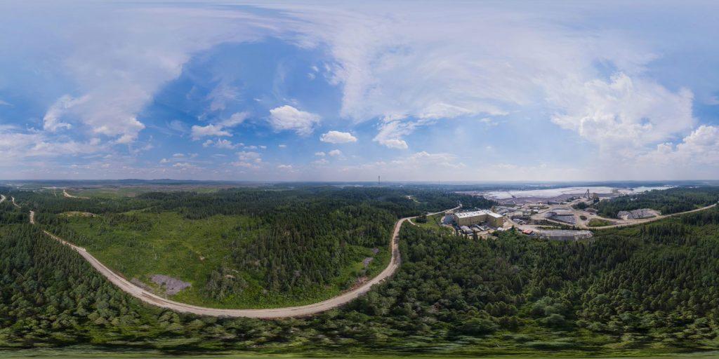 Kirkland Lake Gold's Macassa mine in Ontario. Underground gold mines emit less carbon than open pit mines. Credit: Kirkland Lake Gold