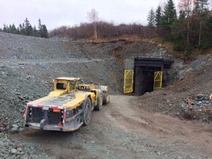 Mine portal Credit: Maritime Resources