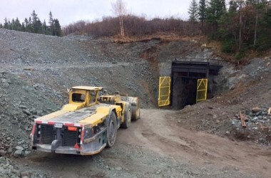 Mine portal Credit: Maritime Resources