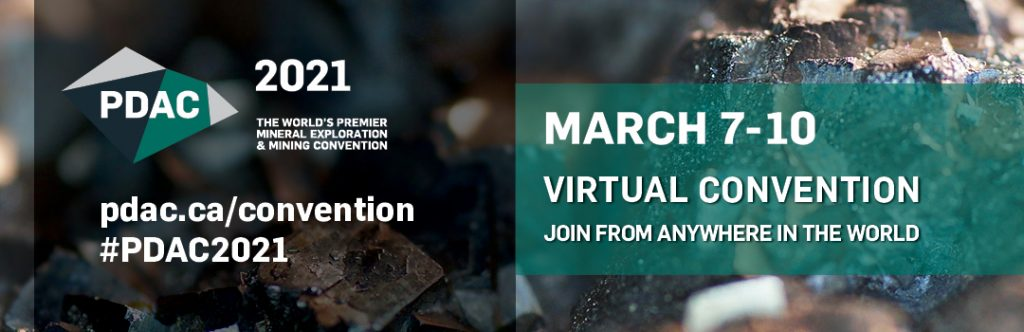 PDAC virtual Convention Credit: PDAC