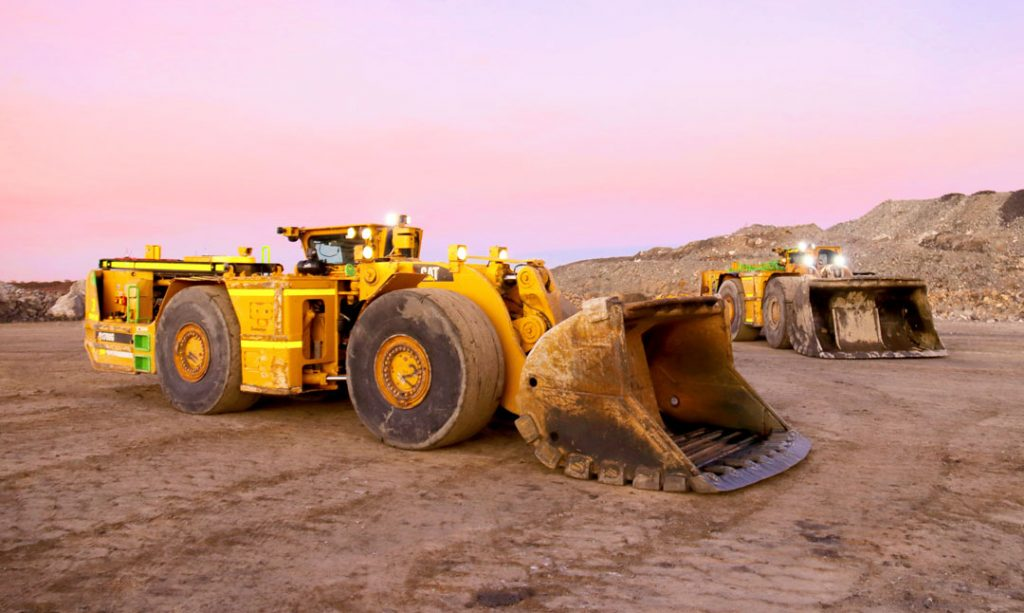 RCT technology on underground loaders. Credit: RCT