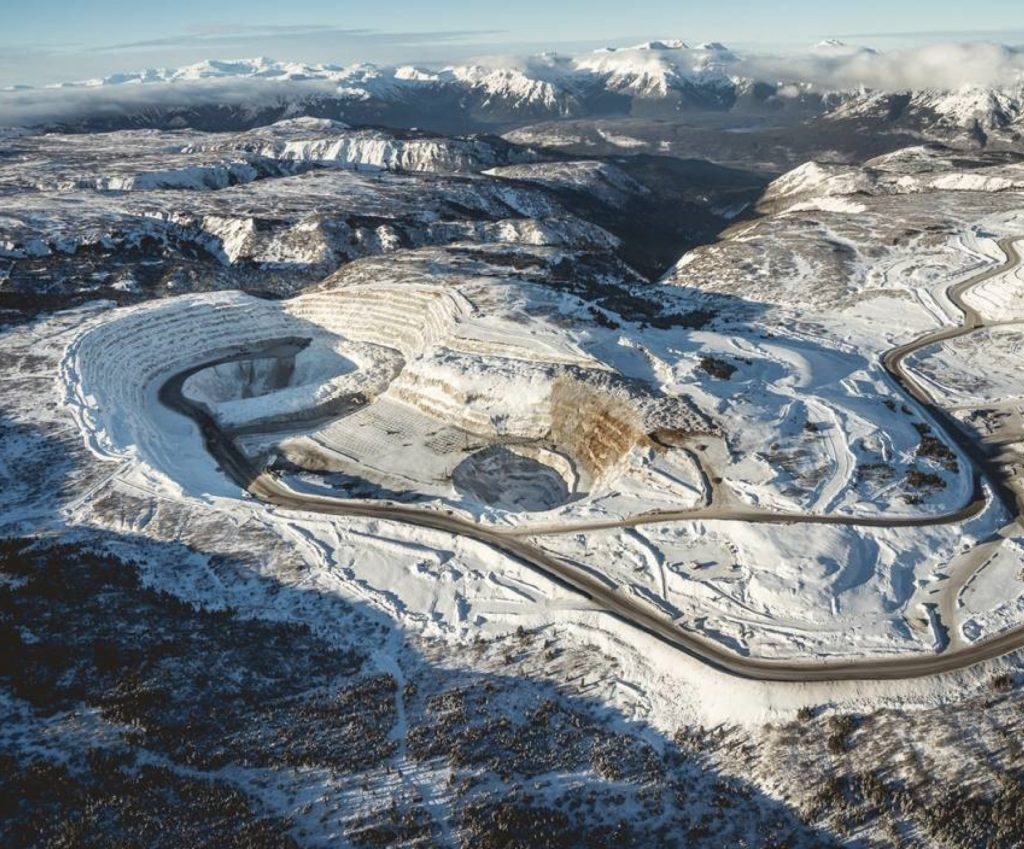 The Red Chris copper-gold mine in B.C. Credit: Newcrest Mining
