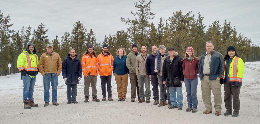 Members of the Rio Tinto and Forum Energy Metals teams at Janice Lake, in Saskatchewan. Credit: Forum Energy Metals