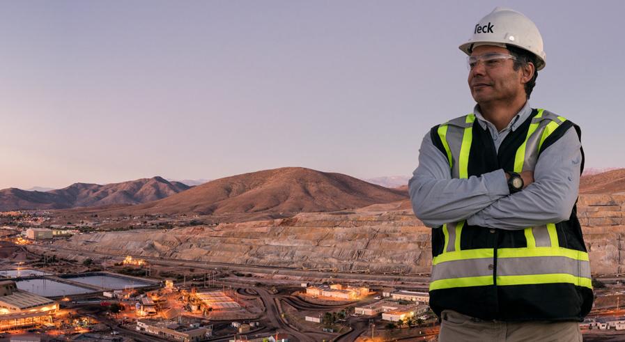 Teck's Carmen de Andacollo copper mine in Chile. Credit: Teck Resources
