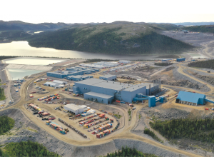 Vale's Voisey's Bay nickel mine in Labrador. Credit: Vale