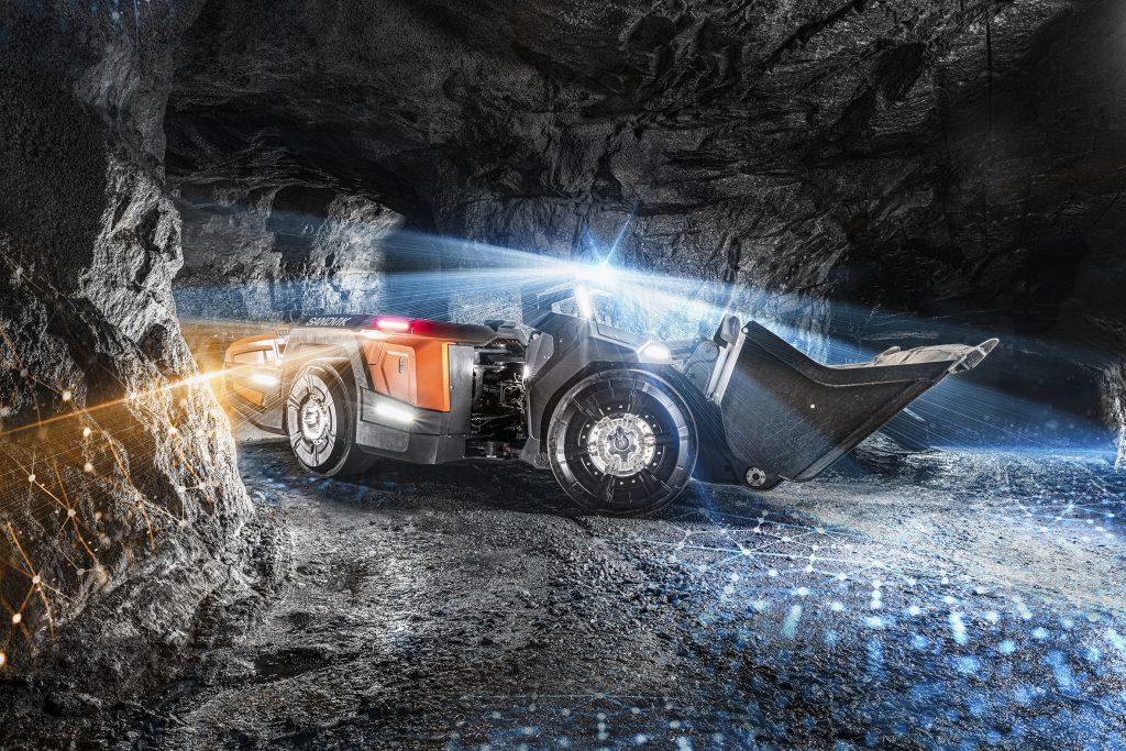 Sandvik's AutoMine concept vehicle. Credit: Sandvik