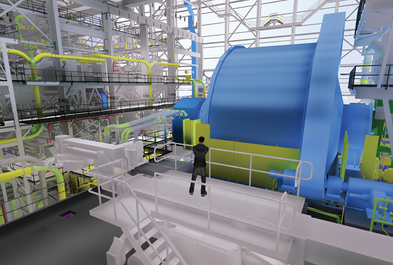 Real-time 3-D model presenting Phase II of the Bloom Lake mining complex in Quebec Credit: BBA