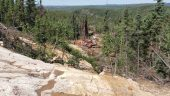 Drilling at Appia's Alces Lake high-grade rare earth project in northern Saskatchewan Credit: Appia Energy