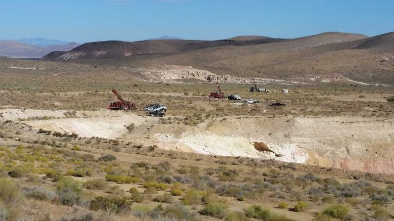 Drilling at Mother Lode Credit: Corvus Gold