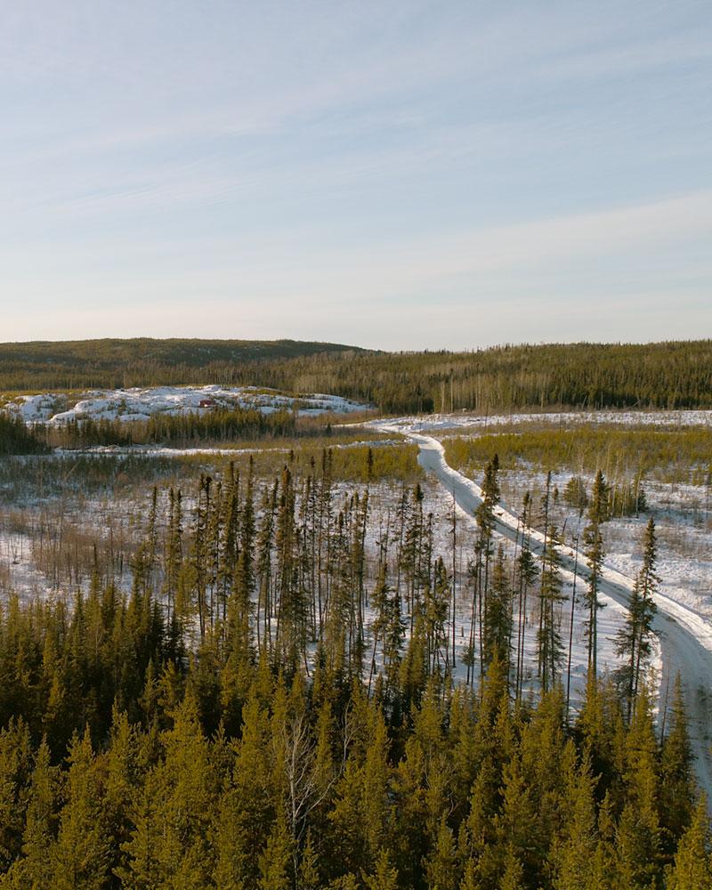 Frontier Lithium's PAK project, in Ontario. Credit: Frontier Lithium