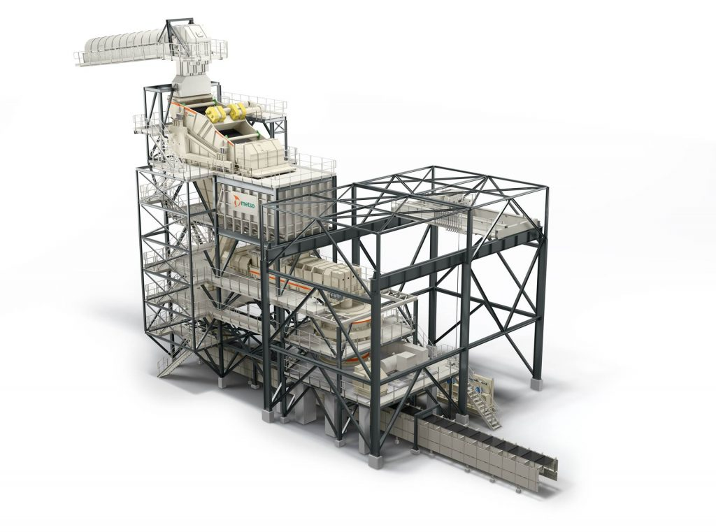 Foresight crushing station. Credit: Metso Outotec