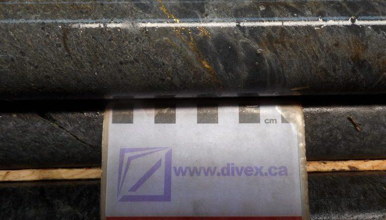 O'Brien drill core Credit: Radisson Mining