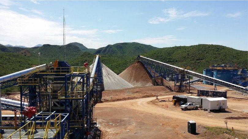 Ore stockpiles at Santa Elena Credit: First Majestic